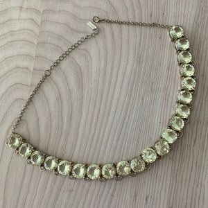 Bauble Bar yellow jewel necklace